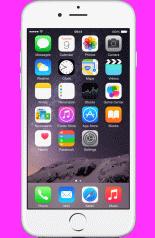 Apple iPhone 6 64GB Silver -  £44.00 1GB + 1000 Min (24mths)